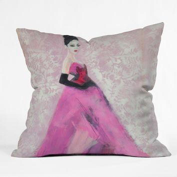 Lana Greben Vintage Dior Throw Pillow