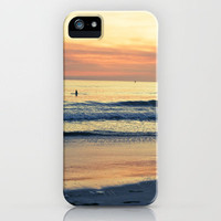 Orange Skies iPhone Case by Young Swan Designs | Society6