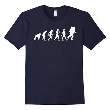 March of Progress Ape To Astronaut - Funny Evolution T-Shirt