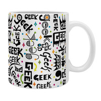 Andi Bird Geek Words Coffee Mug