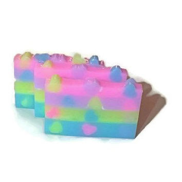 Unicorn Soap - Unicorn Gift - Unicorn Party  Favors - Rainbows and Unicorns - Unicorn Farts - Unicorn Poop Soap - Magical Unicorn Soap
