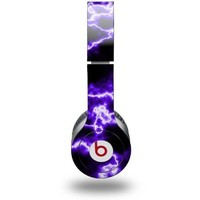 Electrify Purple Decal Style Skin - fits genuine Beats Solo HD Headphones (HEADPHONES NOT INCLUDED)