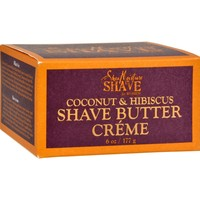 SheaMoisture Shave Cream for Women Coconut and Hibiscus - 6 oz