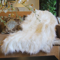 Tache Lion Pile 50 x 60 IN Faux Fur Throw Blanket