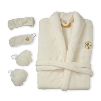 5-Piece Plush Spa Set