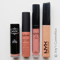 """All about Lips - NUDE"" by NYX *Joy's cosmetics Set *"