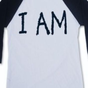 I Am (3/4 Raglan) T-Shirt - Owl City T-Shirts - Official Online Store on District Lines