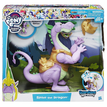 My Little Pony Friendship is Magic Guardians of Harmony Spike Large and Small Dragon Figure Set