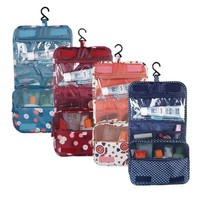 Oxford Multi-function Storage Hang Make Up Luggage Bag Women Travel Large Capacity Cosmetic Bags