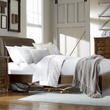 Georgetown Twin Size Upholstered Platform Bed