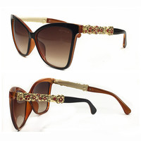 Perfect Chanel Women Fashion Popular Summer Sun Shades Eyeglasses Glasses Sunglasses