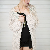 Snow Ball Sweater Cardigan