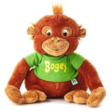 Shirt Tales Bogey Orangutan Stuffed Animal, 14""