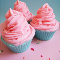 Jumbo Cotton Candy Cupcake Soap