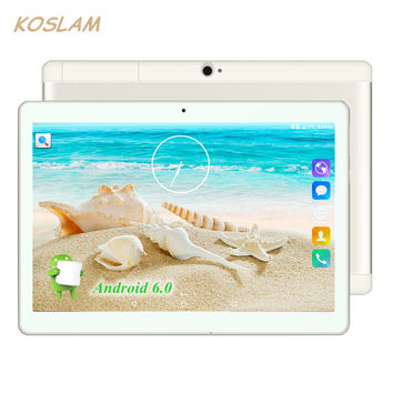 "2017 New Android 7.0 Tablets PC Tab Pad 10 Inch IPS 1280x800 Quad Core 1GB RAM 16GB ROM Dual SIM Card 3G Phone Call 10"" Phablet"