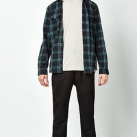 Globe Flanigan Plaid Flannel Long Sleeve Button Up Shirt at PacSun.com