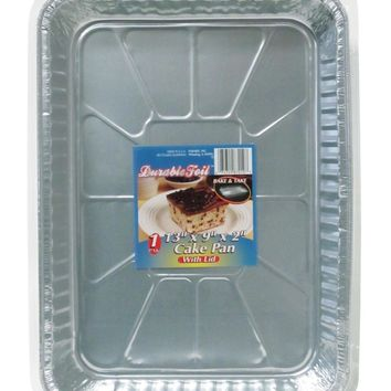 Bake & Take Cake Pan with Lid - CASE OF 12