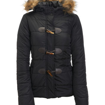 Aeropostale  Hooded Toggle Puffer Jacket