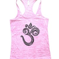 Ohm Burnout Tank Top By Funny Threadz