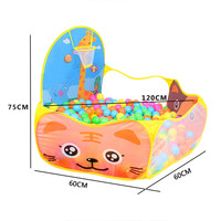 Outdoor Fun & Sports Cartoon Lawn Tent Kids Play Game House Tent Pool Children Tent Ocean Ball Pool Baby Toys
