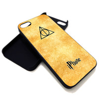 Harry Potter iPhone Logo for iPhone 4 / 4s or iPhone 5 case, Black or White. ' Leave Note for Option '