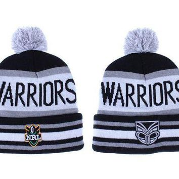 New Zealand Warriors Beanies Nrl Football Hat