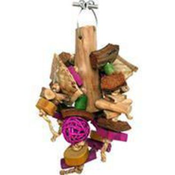 A&e Cage Company - Java Wood Chunky Monster Bird Toy