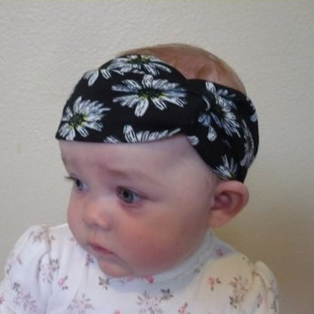 Baby Turban Headband, Baby Girl Headband, Turband, Infant Headband, Toddler Headband, Newborn, Kids, Baby Headwrap Bandana  Goodtreasures123