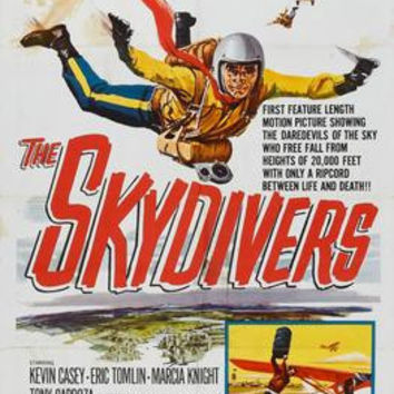 Skydivers The Movie Poster 24inx36in