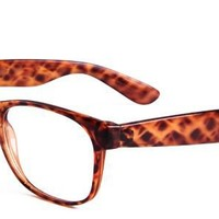 Kitty Eyeglasses with Multicolour Acetate Rectangle Full Frame/Rim Frame