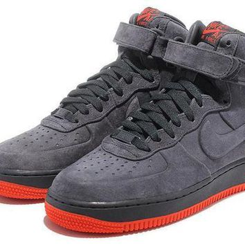 PEAP8KY Nike Air Force 1 472496-002 Grey For Women Men Running Sport Casual Shoes Sneakers