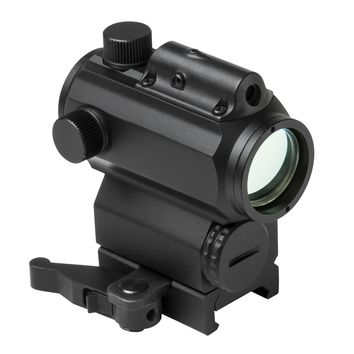"""1.7""""H 30mm Micro Blue & Red Dot Reflex Optic with Integrated Green Laser - Black"""