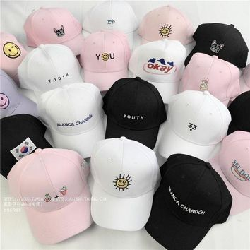 ESBG8W summer caps style lady korean pink Dad Hat white polo caps 2017 girls golf sport baseball caps hats for women female