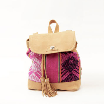 The Inca Backpack & shoulder bag . New color