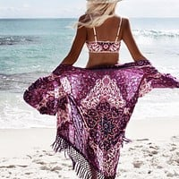 Beach Cover-up Kimono Cardigan