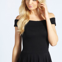 Julia Off The Shoulder Peplum Top