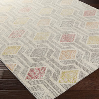 Melody Area Rug |  Geometric Rugs Hand Tufted | Style MDY2001
