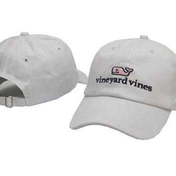 Vineyard Vines Women Men Embroidery Sports Sun Hat Baseball Cap Hat-6