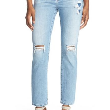 Women's Alexa Chung for AG 'Sabine' Straight Leg Jeans ,