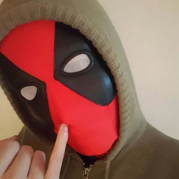 Deadpool Dead pool Taco Super Stretch  Mask Halloween Cosplay  Tights Hood Party Masks For Adults And Kids AT_70_6