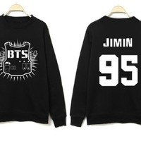 Bangtan Boys /BTS Sweater Rap Monster V J-hope Jin Jimin Hoodie/Hoody