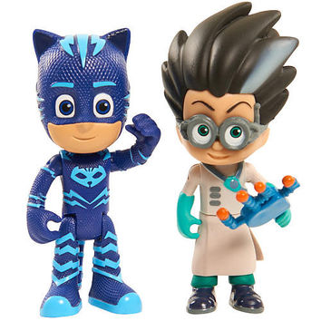 PJ Masks Duet Figure Set - Catboy and Romeo