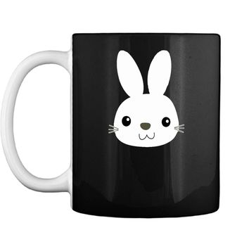 Easter Bunny Cute Face Funny Easter Pascha Holiday T-Shirt Mug