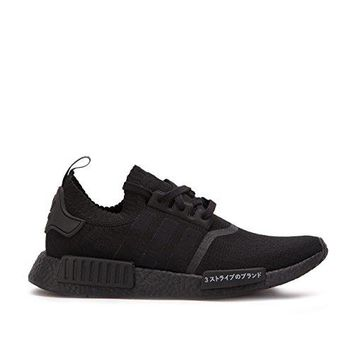 Adidas Originals NMD_R1 PK Mens Running Trainers Sneakers Shoes Prime Knit (US 10, core black BZ0220)