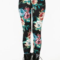 Painted Rose Leggings