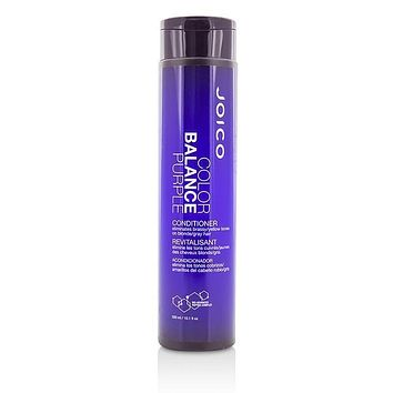 Color Balance Purple Conditioner (Eliminates Brassy-Yellow Tones on Blonde-Gray Hair) - 300ml-10.1oz