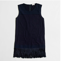 Factory fringe tank top