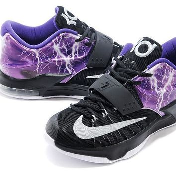 Nike Mens Kevin Durant Kd 7 Se Ep Lighting Black/purple Us7 12 | Best Deal Online