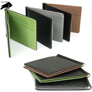 ZYD-COOL Coin Purses Holders credit card holder leather thin bank card holder wallet men thin Card ID Holders