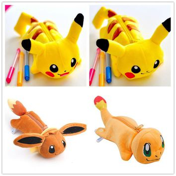 ALL 4Designs, Charmander , Pikachu Etc. Plush Stuffed Toy For Coin Pouch BAG , 25cm Plush Toy Coin Toys BAG Doll Pouch